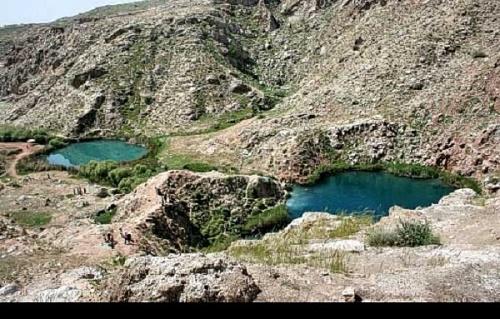 دریاچه دوقلوی«سیاه گاو» آبدانان؛ آکواریوم طبیعی ایلام