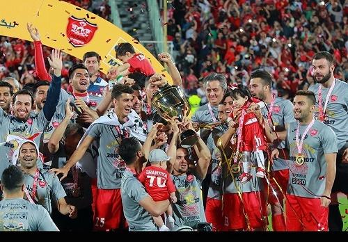 پرسپولیس جام قهرمانی را به خانه برد