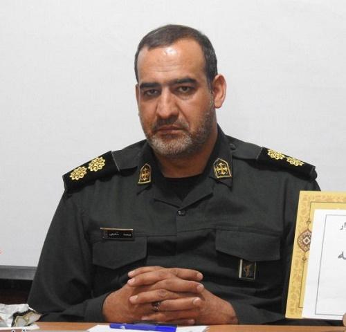 شفیعی فرمانده ناحیه مقاومت بسیج برخوار شد