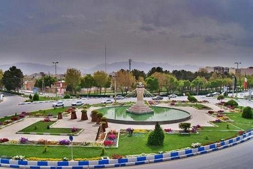 پروژه میدان نمادین شهر شاهینشهر اصفهان